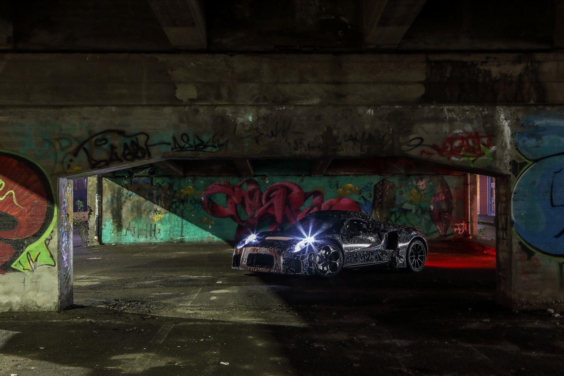 новый Maserati MC20