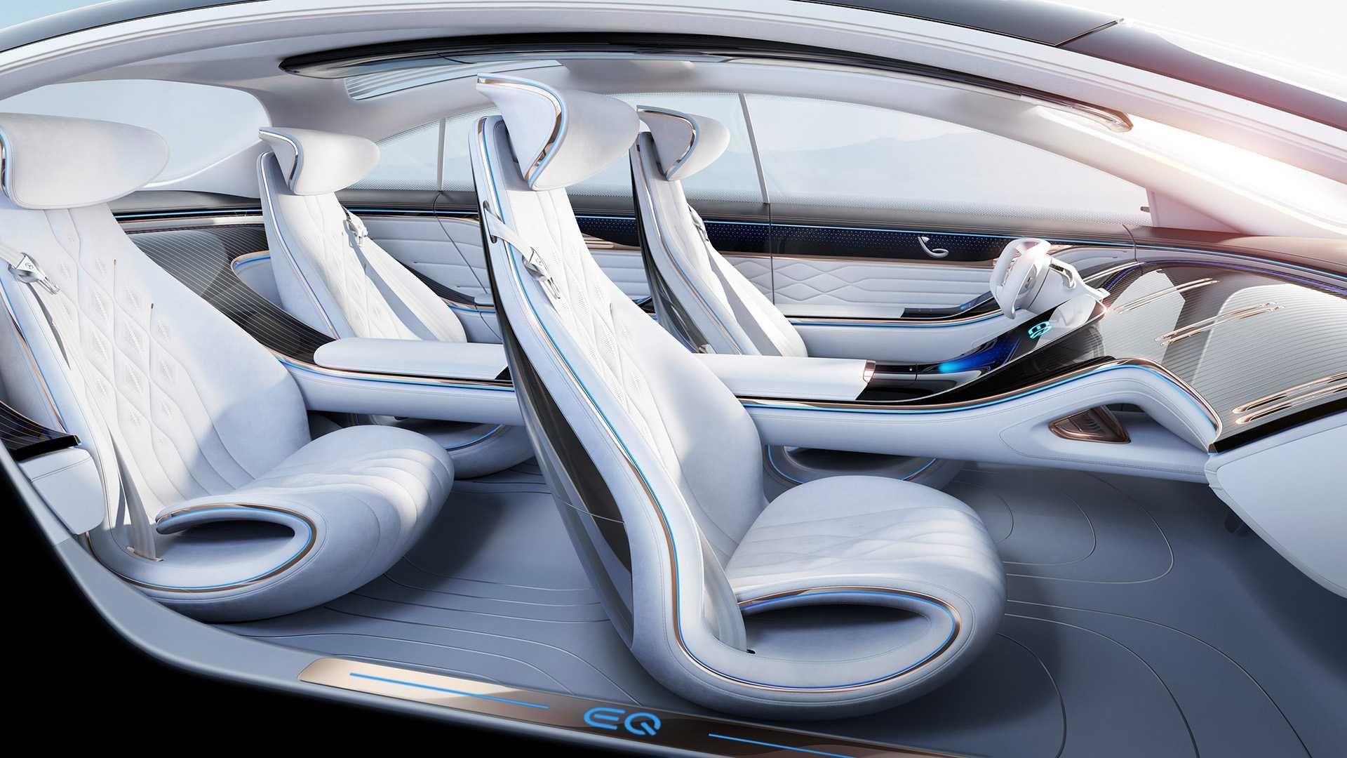 итерьер Mercedes-AMG EQS