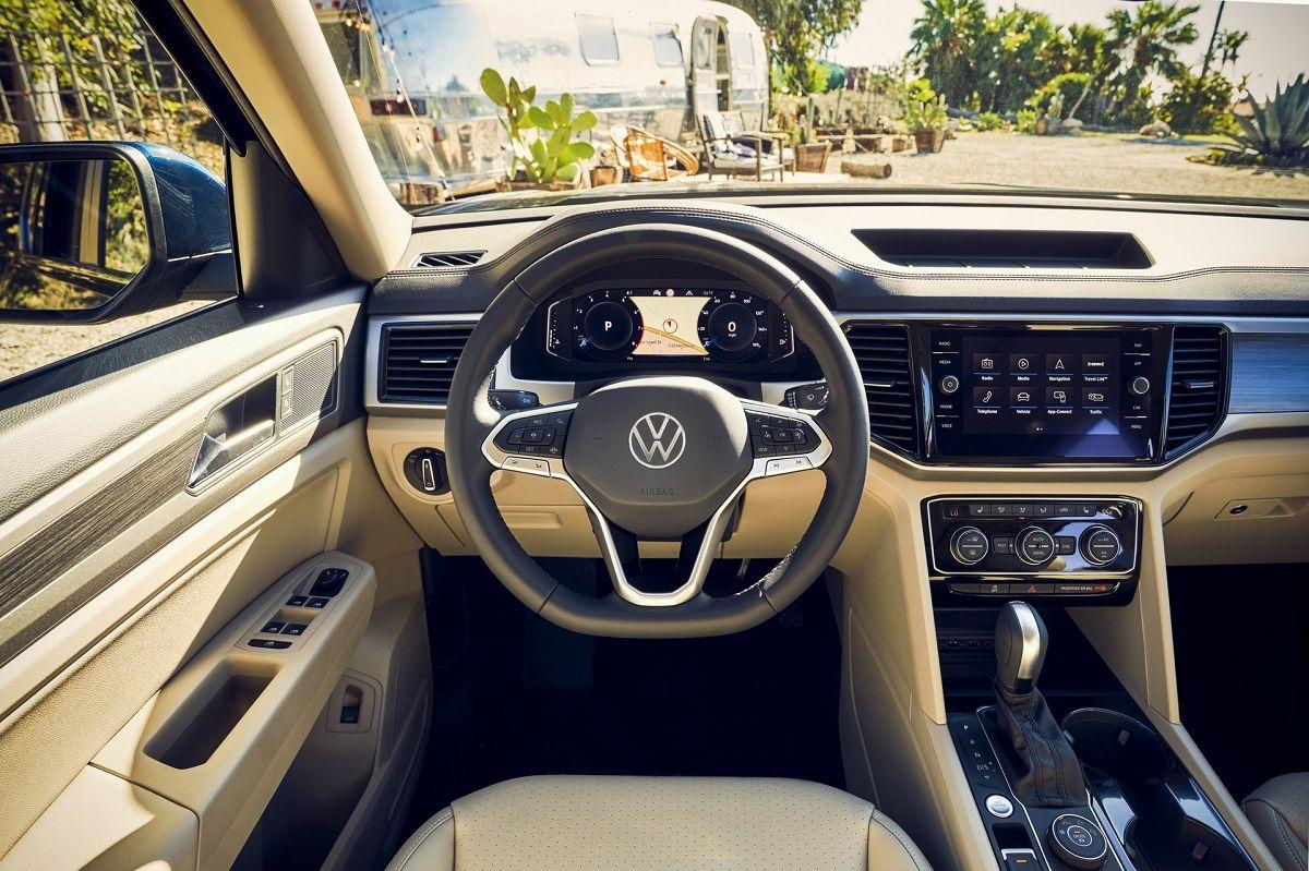 Салон Volkswagen Atlas